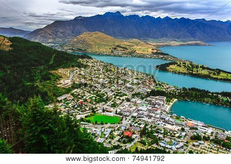 Queenstown Downtown Skyline