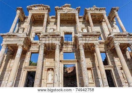 Ancient Celsius Library in Ephesus, Turkey