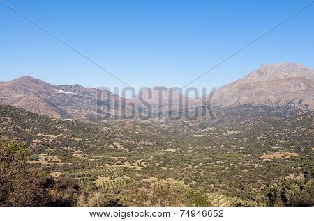 The Kedros Mountain on Crete