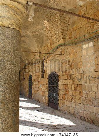 Citadel In Acre, Israel