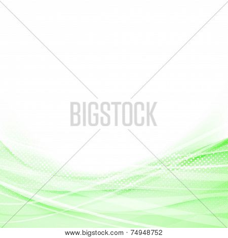 Light Green Speed Swoosh Line Abstraction Shadow