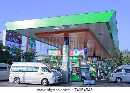 Bangchak Oil station.
