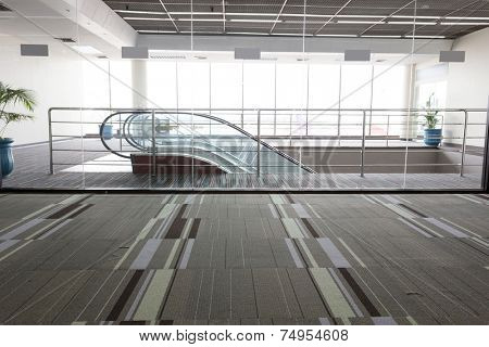 entrance  and escalator