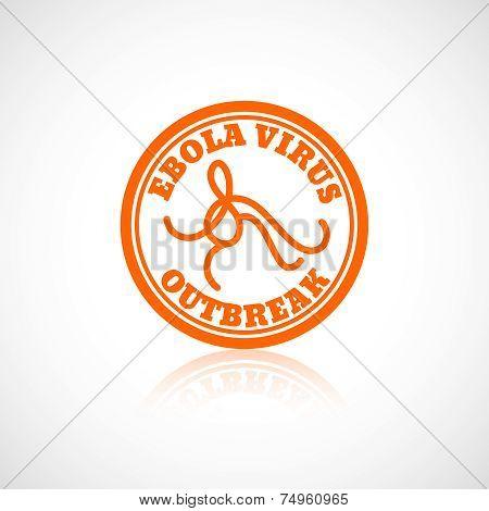 Ebola virus icon