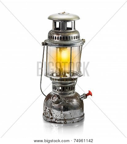 Storm Lantern Isolated