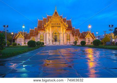 Twilight on Marble Temple