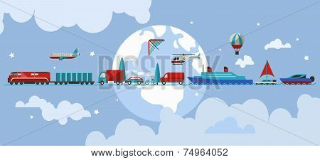 Transport vehicles concept