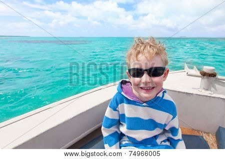 Boy At Sea
