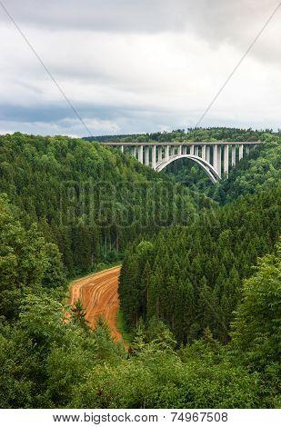 Neckarburg bridge