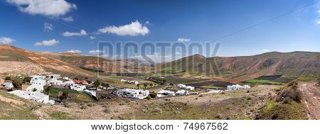 Valle de Femes in Lanzarote