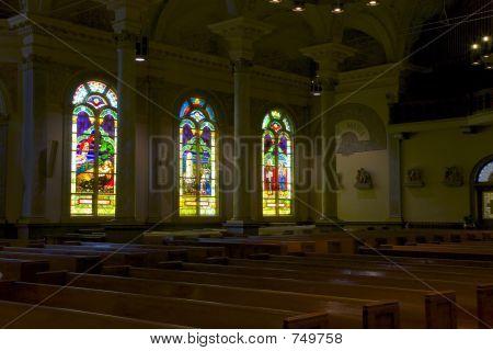 All Saints Carholic Church Sanctury Interior