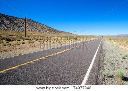 Road Through Nevada Wilderness