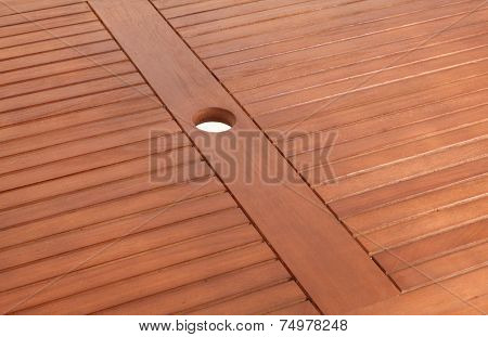 the brown wood texture with natural patterns (close up of table)