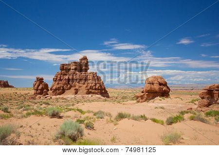 Southwest Desert Rock Formation