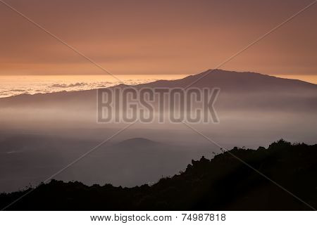 Twilight Over The Clouds