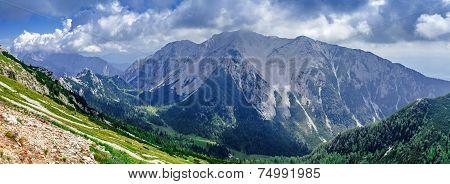Slovenia mountain landscape