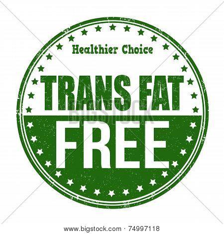 Trans Fat Free Stamp