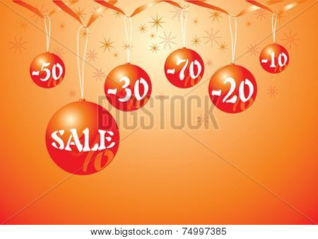 Christmas baubles with discount prices