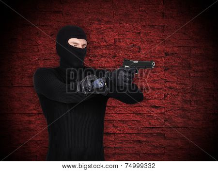Thug With Gun