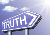 stock photo of tell lies  - truth be honest uncover lies honesty leads a long way find justice law and order  - JPG