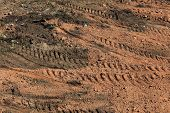 stock photo of land development  - preparation soil of land area for construction - JPG