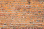 foto of mortar-joint  - red bricks wall or construction background - JPG