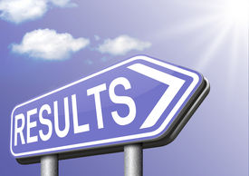 stock photo of election  - test results and succeed business success be a winner in business elections pop poll or sports result test result business report election results  - JPG
