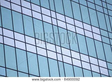 Part of an office building, Gurgaon, Haryana, India