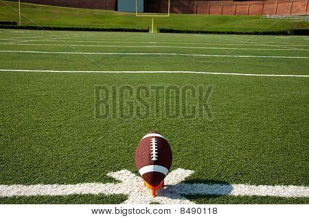 Kickoff de fútbol americano