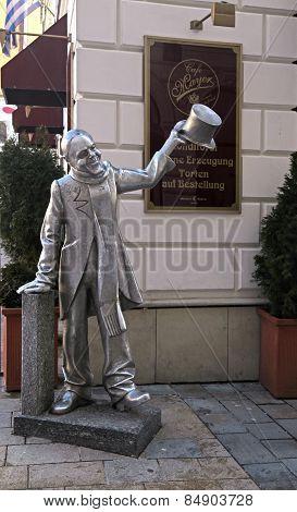 The Statue Of Schoner Naci, Bratislava