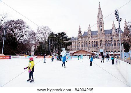 Wiener Eistraum (ice Rink), Vienna