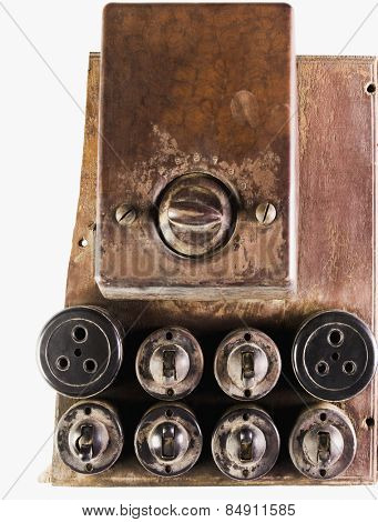 Light-switches and sockets