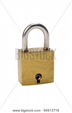 Close-up of a padlock