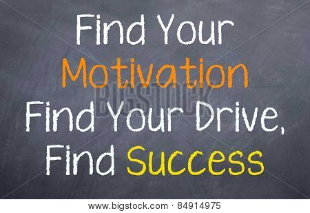 Find Motivation - Find Success