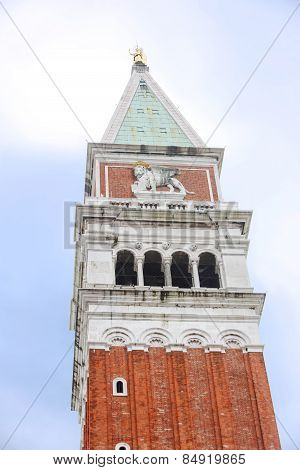 Low Angle View Of San Marco Campanile