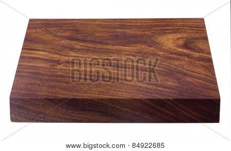 Close-up of a wooden shelf