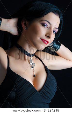 Attractive Goth Woman