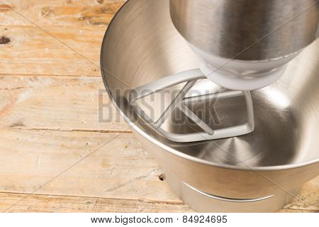 Food Processor With Beater