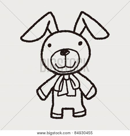 Doodle Doll Rabbit