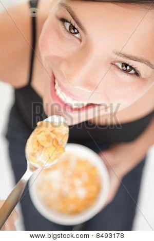 Cornflakes Woman