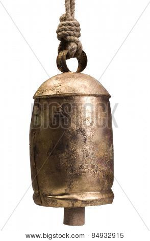 Close-up of a cow bell