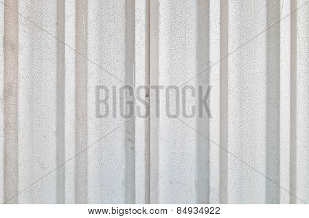 Rusty Corrugated Metal Texture