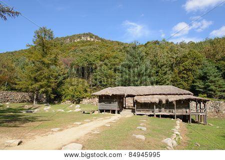 Mungyeong, Korea - October 14, 2014: Joryeongwon In Mungyeongsaejae