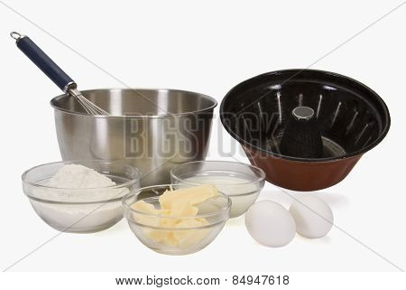 Close-up of cooking ingredients