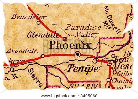 Phoenix Old Map