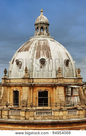 Educational building in a city, Radcliffe Camera, Oxford University, Oxford, Oxfordshire, England