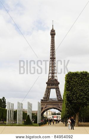 The Eiffel Tower, Champ De Mars, Paris, France