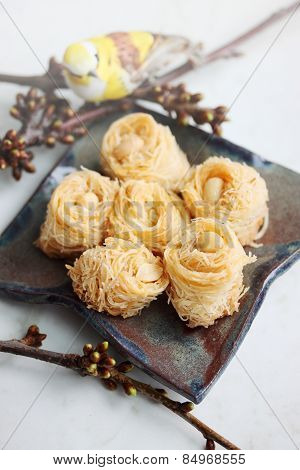 Eastern Baklava With Nuts