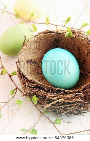 Large Turquoise Egg