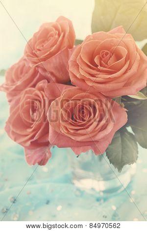 Orange Roses, Vintage
